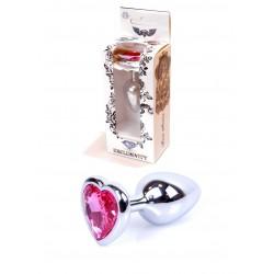 anální šperk Exclusivity srdce pink