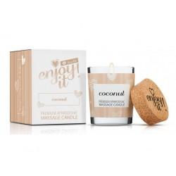 masážní svíčka MAGNETIFICO - ENJOY IT! COCONUT