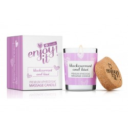 masážní svíčka MAGNETIFICO - ENJOY IT kissable! blackcurrant and kiwi