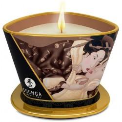Shunga - masážní svíčka Intoxicating Chocolate 170ml