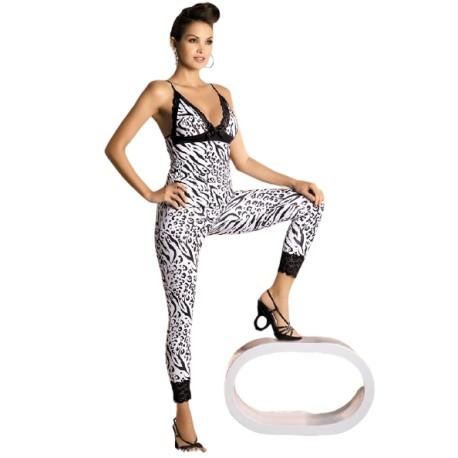 Souprava Zebra top + pants - Obsessive