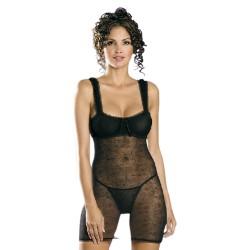 Košilka Mirell chemise - Obsessive ,černá S/M