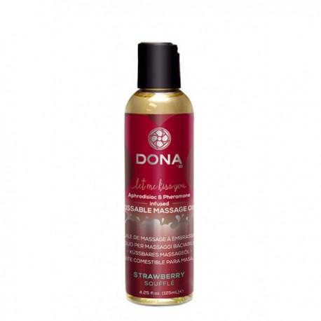 Masážní olej Dona Jahoda