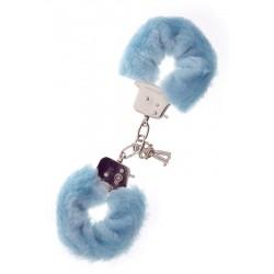 Pouta Furry Cuffs modrá