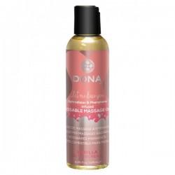 Masážní olej DONA vanilka