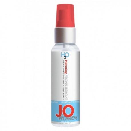Hřejivý lubrikační gel JO H2O Warming