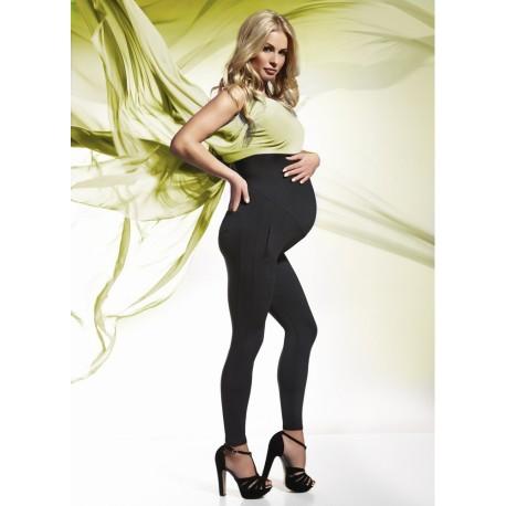 Těhotenské legíny Melanie 200Den - Bas Black