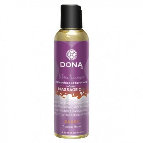 Masážní olej Dona Sassy