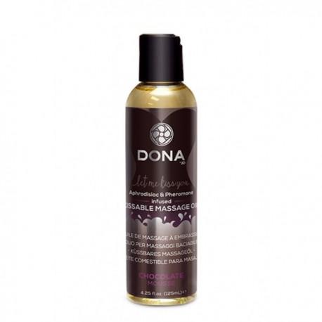 Masážní olej Dona čokoláda