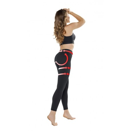 Legíny Gwinner Push-up Leggings Anti Cellulite