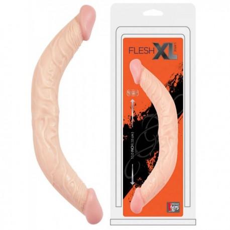 Oboustranné dildo Flesh XL large