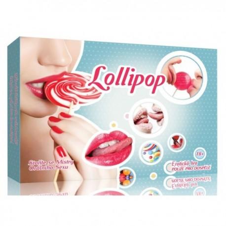 Erotická hra Lollipop Orální pohlazení