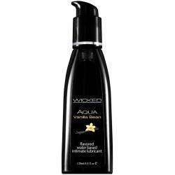 Lubrikant Wicked Aqua Vanilla Bean 120 ml