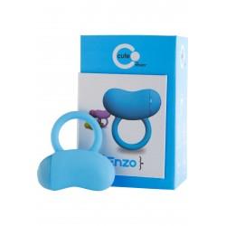 vibrační kroužek Toy Joy Enzo blue
