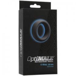 Doc Johnson OptiMALE C-Ring- erekční kroužek-černý