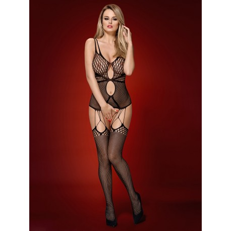 Úžasné body N117 bodystocking - Obsessive