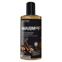 Jedlý masážní olej s příchutí kávy Warm Up- 150 ml