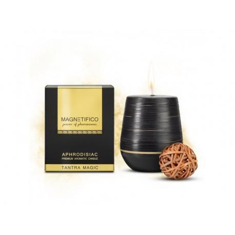 Afrodiziakální vonná svíčka Magnetifico Aphrodisiac Candle Tantra Magic - Valavani