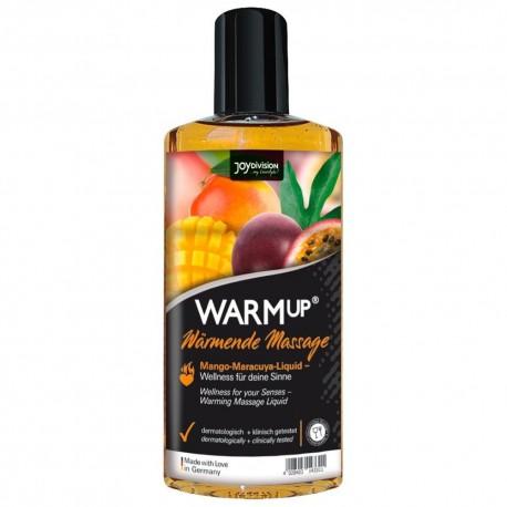 Jedlý hřejivý masážní olej s příchutí mango a marakuja,Warm Up