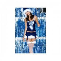 Vánoční kostým Snowflake corset - Obsessive