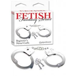 Fetish Pouta na ruce metal cuffs