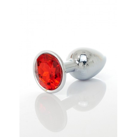 anální šperk Jawflerry plug červený