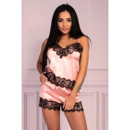 Sexy souprava Serranin pink - LivCo Corsetti