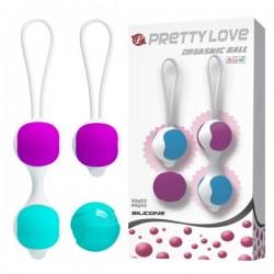 Venušiny kuličky Pretty Love Orgasmic Balls Set