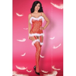 Vánoční body Catriona Christmas - LivCo Corsetti
